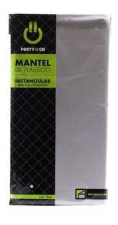 Mantel Rectangular Plata 1 Pz (1mtr-007)