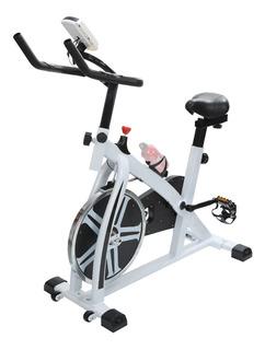 Bicicleta Fija Spinning Friccion Bici Profesional Fitness Indoor Reforzada Premium Y En Cuotas Sin Interes