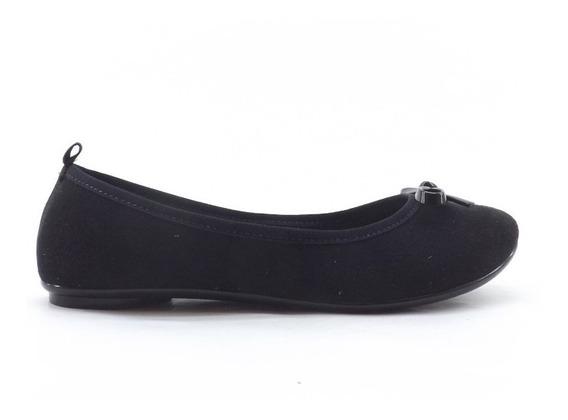 Zapatos Sin Taco Chatitas Moleca Moño Dama Mujer Liquidacion