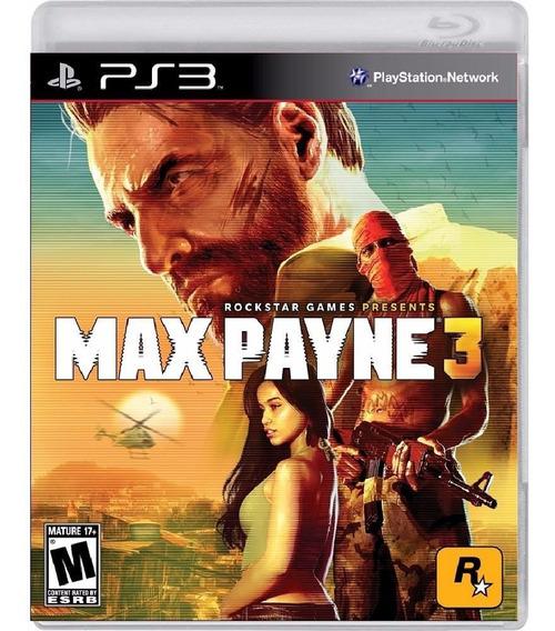 Max Payne 3 - Mídia Física / Ps3
