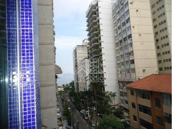 Apartamento Com 3 Dormitórios À Venda, 146 M² Por R$ 950.000,00 - Icaraí - Niterói/rj - Ap0919