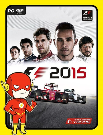 F1 2015 Pc - Steam Key (envio Flash)