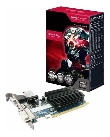 Placa Video Sapphire Amd Radeon R5 230 1gb Ddr3 Mexx 1