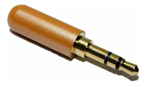 Ficha Conector Miniplug 3,5 Estereo Hamc Cuerpo Reducido
