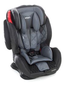 Cadeirinha Auto Bebê Reclinável Cockpit Infanti Cinza 9-36kg