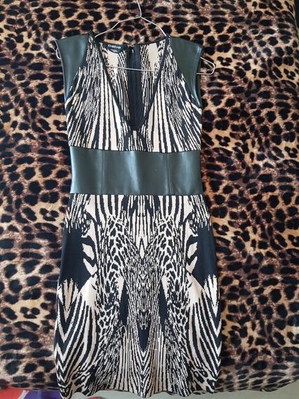 Vestido Casual Animal Print