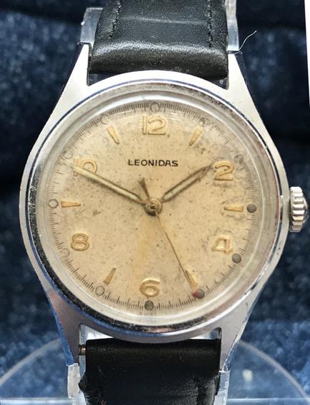 Relógio Nível Omega Militar Leonidas Que Virou Heuer Antigo