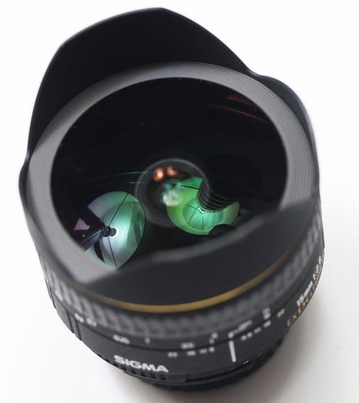 Lente 15mm F/2.8- Ful-frame/ Da Sigma Para Nikon