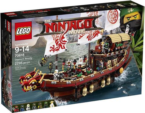 Imagen 1 de 3 de Lego Ninjago Movie Destiny's Bounty 70618