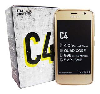 Telefono Blu C4 C050u Android Dua Liberado Whatsapp Instagra