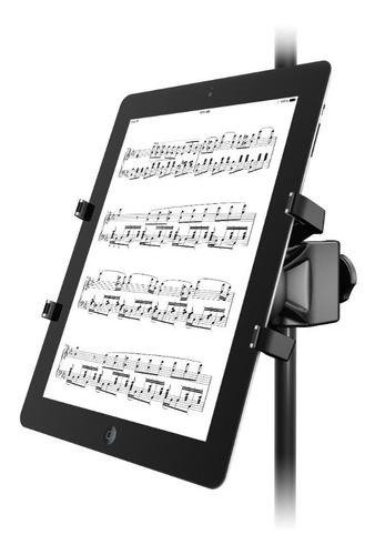 Imagen 1 de 7 de Soporte Para Tablet iPad Iklip Xpand Para Pie De Microfono
