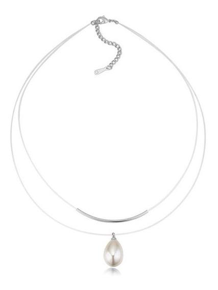 Collar Con Cristales, Ocean Heart Oh16-928