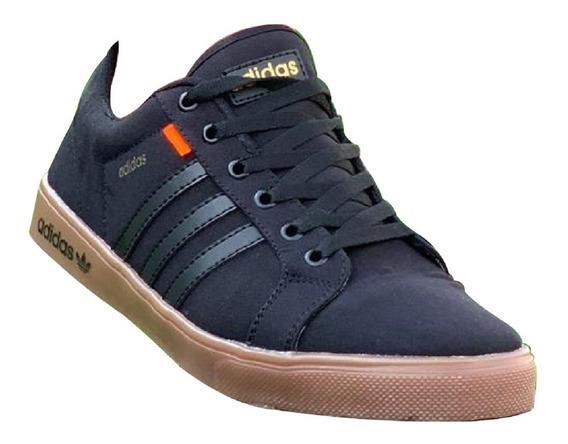 Tenis Zapatos Addas Bandera Caballero + Envió Gratis