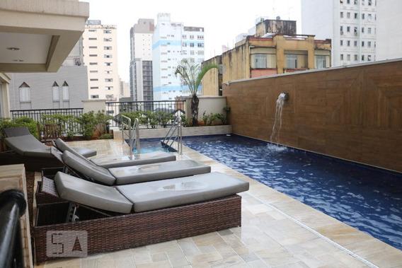 Apartamento Para Aluguel - Centro, 1 Quarto, 41 - 893046557