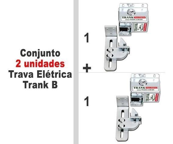 2 X Trava Elétrica Trank B10 Portão Automático Basculante