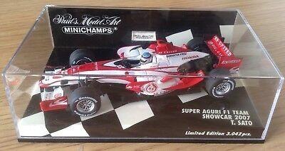 Miniatura De Fórmula 1 - Super Aguri 2007 Escala 1:43