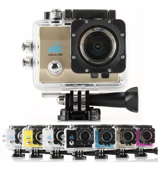 Mini Câmera 4k Full Hd Tela 2 Polegadas Prova D