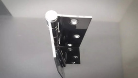 Dobradiça Com Rolamento Aço Inox 3½x3 - Inox Kit Com 03 Peça