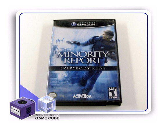 Gc Minority Report Original Gamecube
