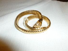 Pulsera Oro 18 K Dama Flexible Fig. Serpiente # 2