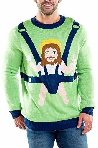 Sueter De Navidad Feo De Tipsy Elves Sweet Baby Jesus Para H
