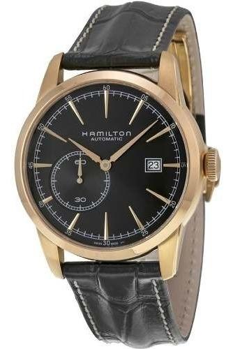 Relogio Hamilton H38511553 Railroad Small Seconds Automatico