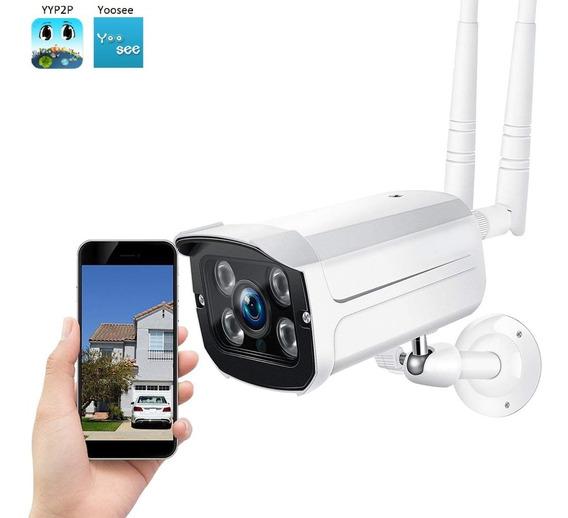 Camera Ip Externa A Prova D Agua Wifi Visao Noturna Hd Ip66