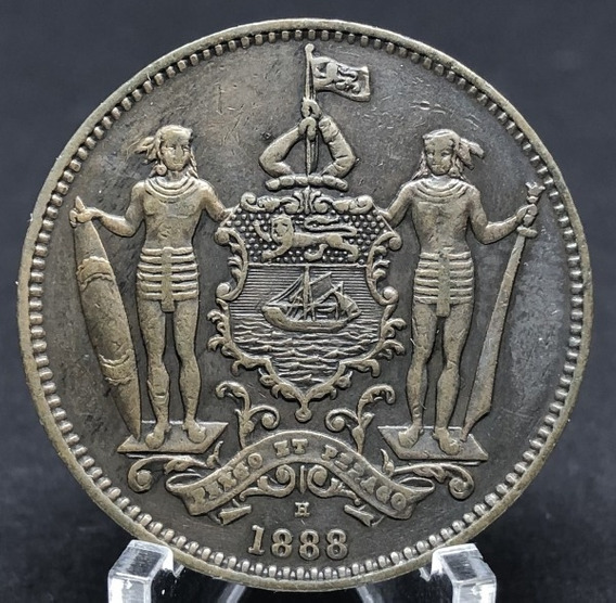 British North Borneo: Bela Cédula 1 Cent 1888 - Rara