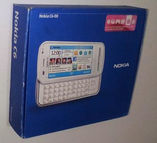 Celular Nokia C6-00 N-series Black Camera 5.0 Caixa Completo