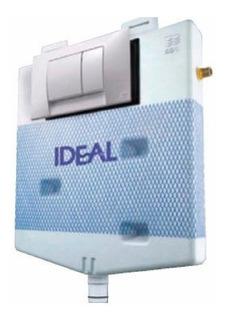 Deposito Ideal Suma Dual Embutir + Tecla Dual Blanca