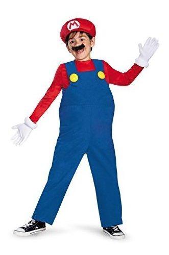 Disfraz - Disfraz Super Mario Para Niño.