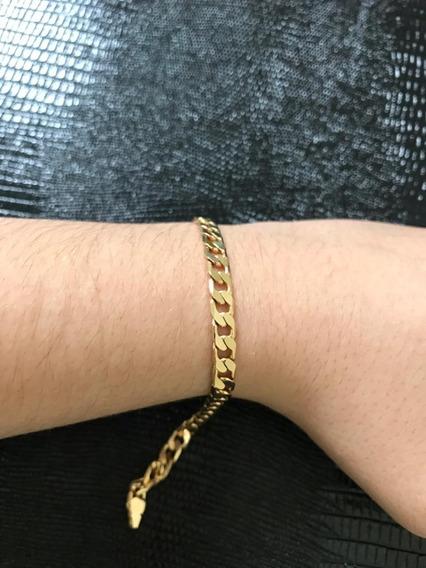 Pulseira Masculina Ouro 18k