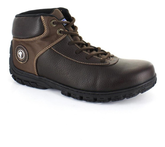 Botin Para Hombre Michelin Gti-026683 Color Cafe