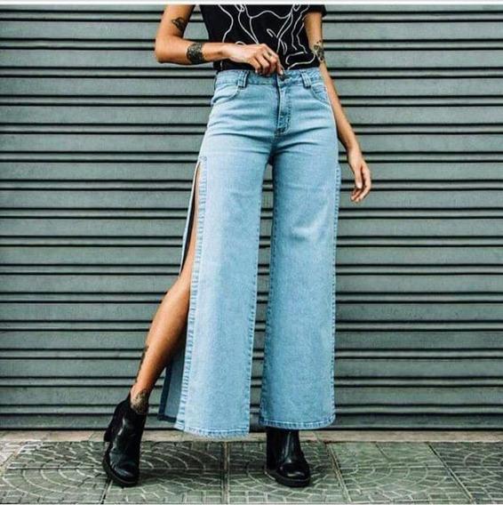 Calça Jeans Lady Rock Abertura Lateral Original Tamanho 36