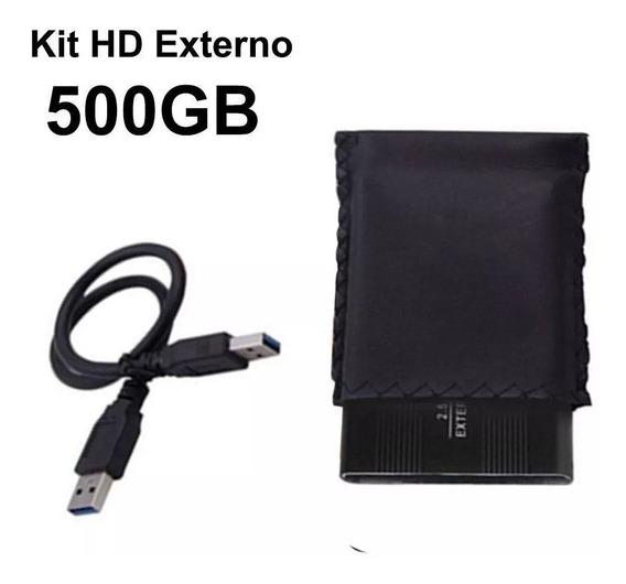 Hd Externo Case Portátil 500gb Usb