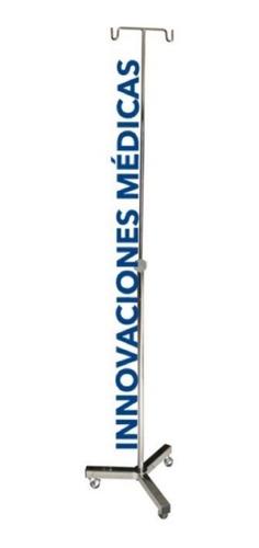 Imagen 1 de 1 de Porta Venoclisis Tripie Rodable Cromado Usomedico(para Suero