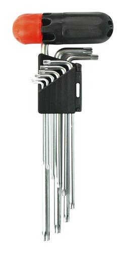 Imagem 1 de 2 de Chave Torx Modelo Zh014 Stamaco  9 Peças Original Nfe *