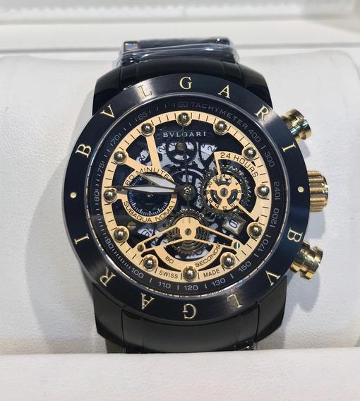 Relógio Bvlgari Iron Man