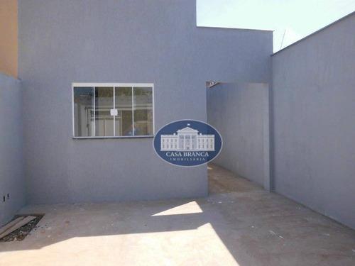 Imagem 1 de 16 de Casa Com 2 Dormitórios À Venda, 60 M² Por R$ 160.000 - Água Branca Iii - Araçatuba/sp - Ca1186