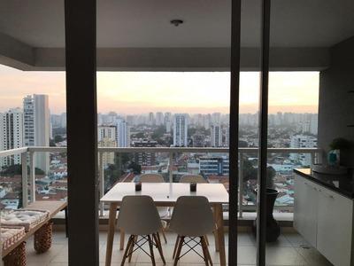 Apartamento Em Brooklin, São Paulo/sp De 48m² 1 Quartos Para Locação R$ 3.000,00/mes - Ap204075
