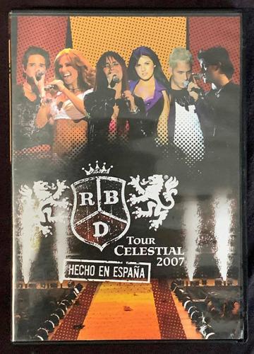 Dvd - Rbd Hecho En España
