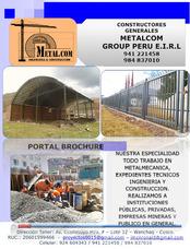 Estructuras Metálicas Cusco - Metalcom Mgp Contratistas