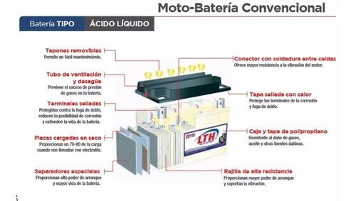 BATER/ÍA DE MOTO YB7-A MARCA VMF PLOMO /ÁCIDO CB7-A