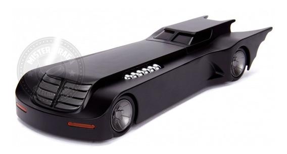 Miniatura Batmóvel Modelo Serie Animada Preto 1/24 Jada