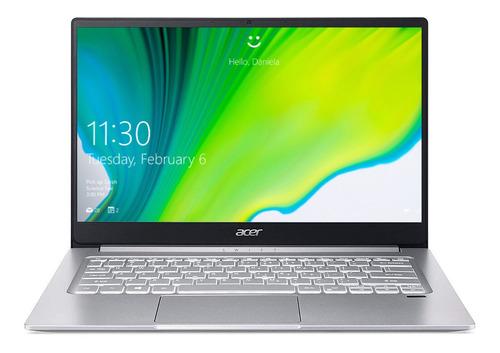 "Imagen 1 de 8 de Notebook Acer Swift 3 SF314-42 pure silver 14"", AMD Ryzen 7 4700U  8GB de RAM 512GB SSD, AMD Radeon Vega 7 1920x1080px Windows 10 Home"