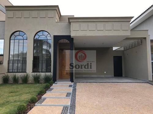 Casa Com 3 Suítes À Venda, 147 M² Por R$ 730.000 - Recreio Das Acácias - Ribeirão Preto/sp - Ca2964