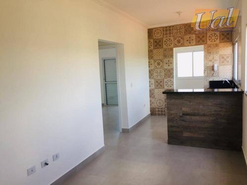 Apartamento Com 2 Dormitórios À Venda, 55 M² Por R$ 320.000,00 - Centro - Atibaia/sp - Ap0380