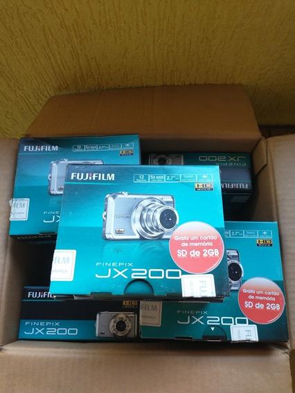 Máquina Fujiifilm Finepix Jx 200 Todas Nova Lacrada