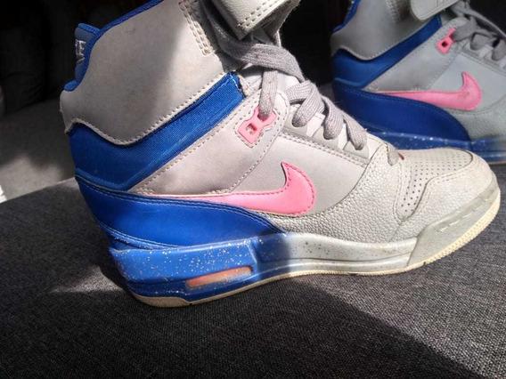 Zapatillas Nike Mujer Con Taco Air