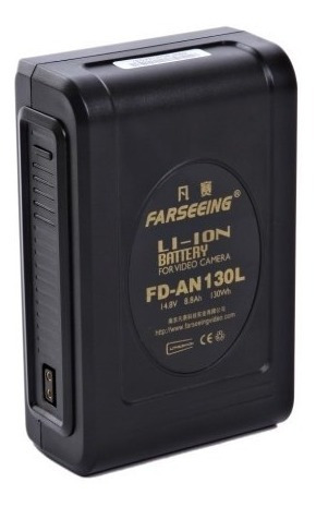 Bateria Gold Mount An 130l C/ D-tap 130wh - Nova!